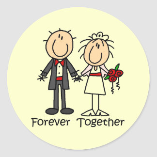 Forever Together T-shirts and Gifts Stickers