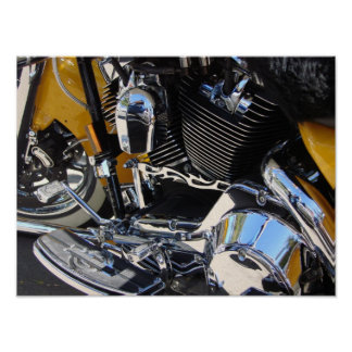 Forever Two Wheels Motorcycle Series 02 Poster