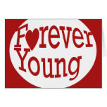 Forever Young Stationery Note Card
