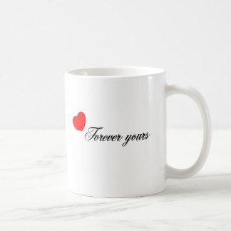 Forever Yours Basic White Mug