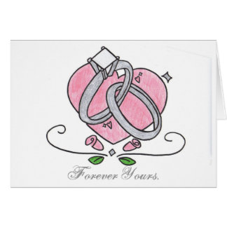 Forever Yours. Greeting Cards