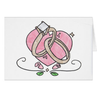 Forever yours. greeting card