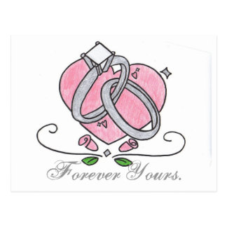 Forever Yours. Postcard