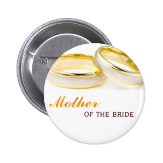 Forever yours two rings wedding name tag badge pin