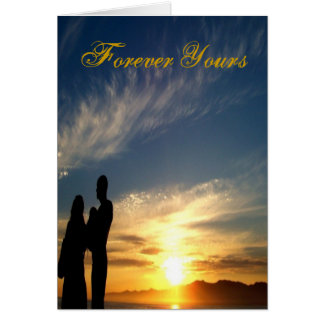 Forever Yours/ Valentine's Day_ Card