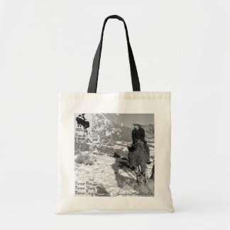 ForeverCowgirl canvas bag