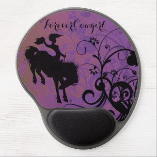 ForeverCowgirl gel mousepad Gel Mouse Mat