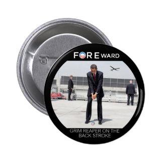 FOREward Anti-Obama 6 Cm Round Badge