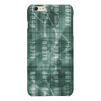 Forex Trading Online and with US Dollar Graph iPhone 6 Plus Case