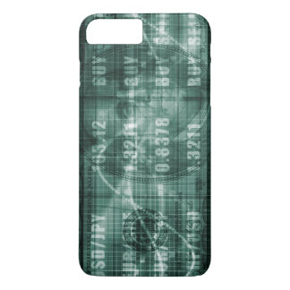 Forex Trading Online and with US Dollar Graph iPhone 7 Plus Case