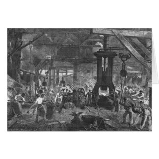 Forge of the Derosne and Cail Company, Card