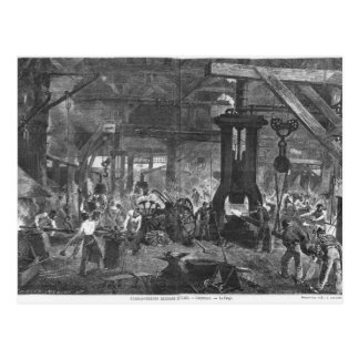 Forge of the Derosne and Cail Company, Postcard