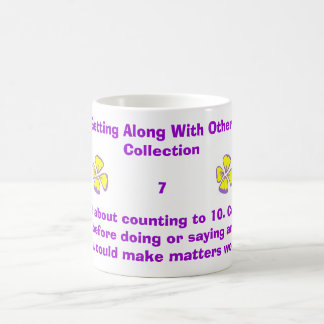 Forget about counting to 10. Count to 1... Basic White Mug