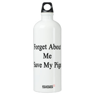 Forget About Me Save My Pigs SIGG Traveller 1.0L Water Bottle