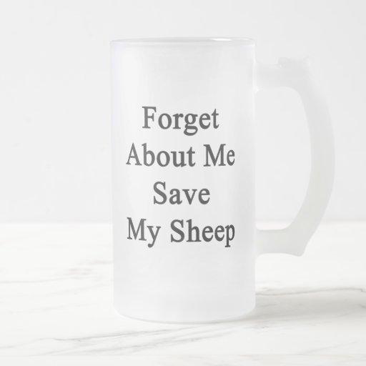Forget About Me Save My Sheep Mug