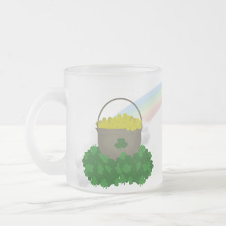 Forget About the Leprechaun Glass Mug
