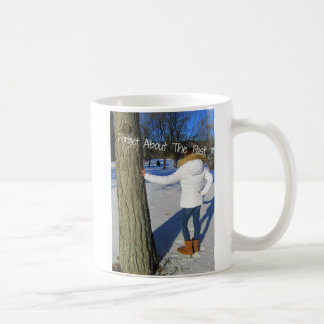 Forget About The Past Basic White Mug
