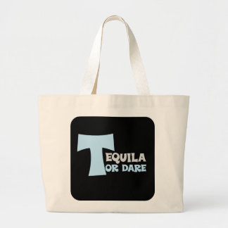 Forget about the truth I want tequila Jumbo Tote Bag