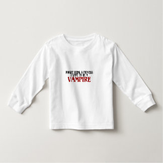 Forget Being A Princess I Want To Be A Vampire Toddler T-Shirt