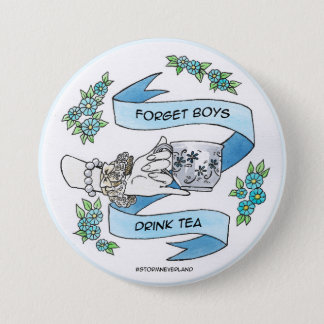 Forget Boys 7.5 Cm Round Badge
