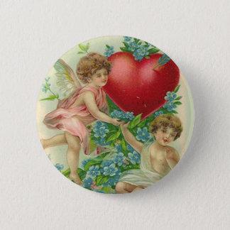 Forget me knot Valentine 6 Cm Round Badge