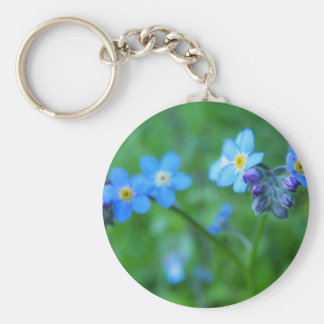 Forget-me-not Blues Key Chain
