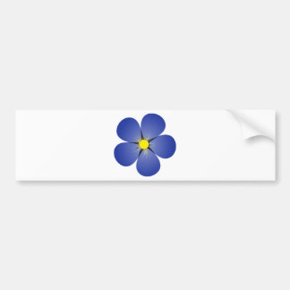 Forget me not bumper sticker