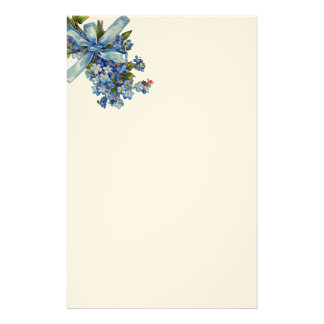 FORGET ME NOT CUSTOMISED STATIONERY