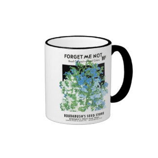 Forget Me Not, Dwarf Compact, Roudabush's Seed Sto Mug