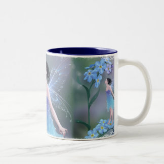 Forget-Me-Not Flower Fairy Mug