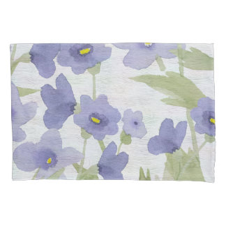 forget-me-not flowers pattern pillowcase