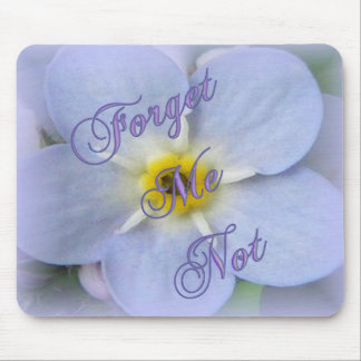 Forget Me Not Mouse Mat