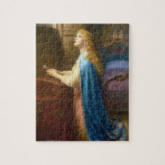 'Forget me Not' (oil on canvas) Jigsaw Puzzle