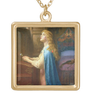 'Forget me Not' (oil on canvas) Jewelry