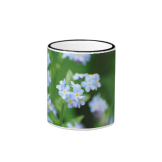 Forget Me Nots Coffee Mugs