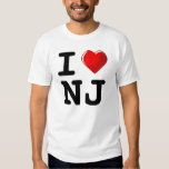 Forget New York! I Love New Jersey! Shirts