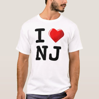 Forget New York! I Love New Jersey! T-Shirt