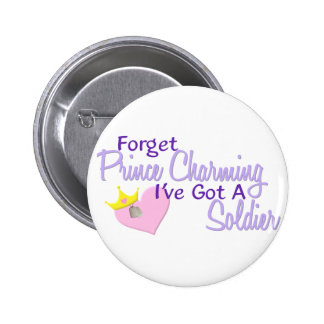 Forget Prince Charming - Soldier 6 Cm Round Badge