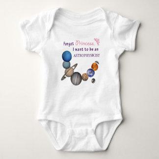 Forget Princess - Astrophysicist Baby Bodysuit