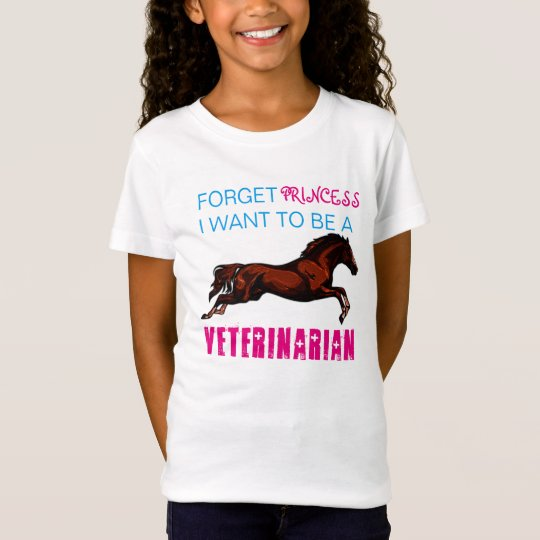 """Forget Princess, I Want to be a Veterinarian"""