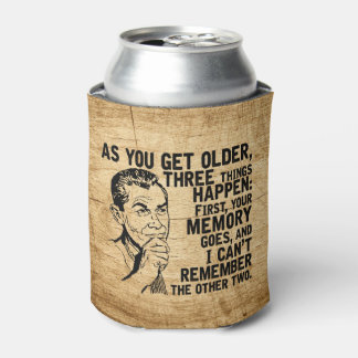 Forgetful Dad Humor Father's Day Can Cooler