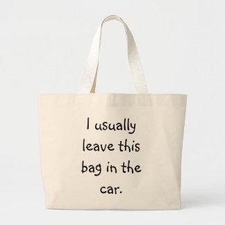 Forgetful Shopper 5 Jumbo Tote Bag