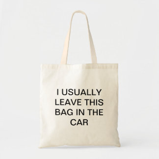Forgetful Shopper Tote Bag