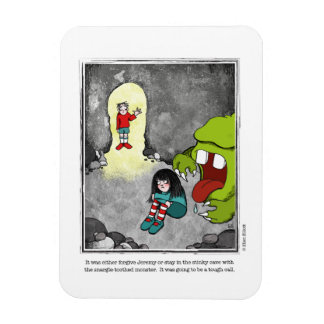 FORGIVE cartoon by Ellen Elliott Rectangular Photo Magnet