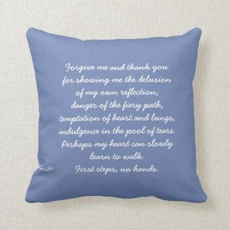 Forgive me cushion