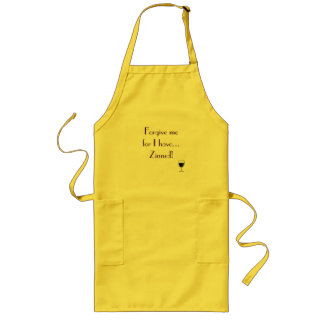 Forgive me for I have...Zinned! apron