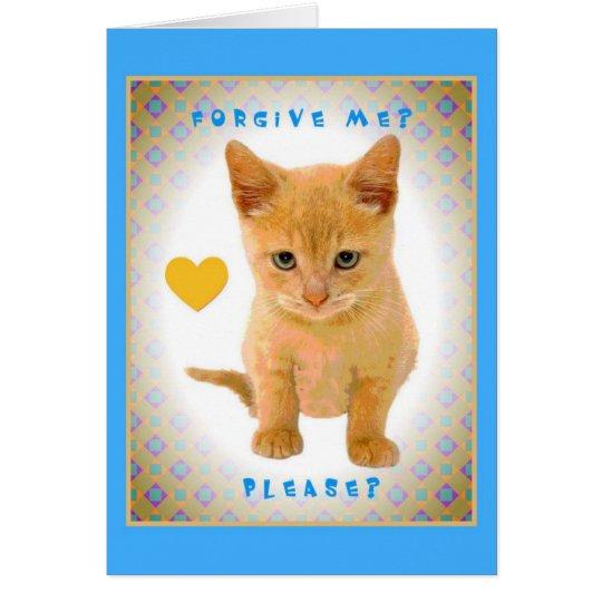 Forgive me? Please? Card