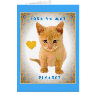 Forgive me? Please? Greeting Card