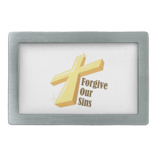 Forgive Our Sins Belt Buckle