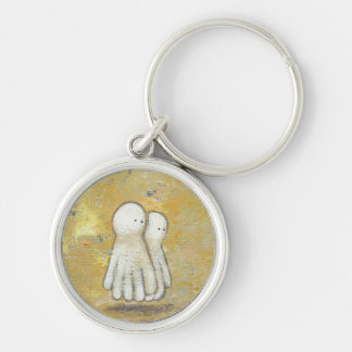 Forgiveness healing recovery ghosts the past art key chain